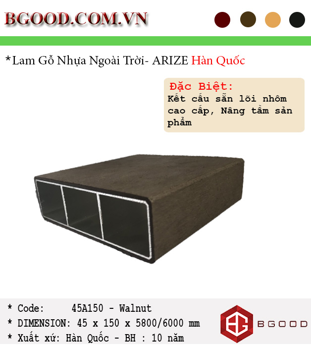 ARIZE-45A150-Walnut