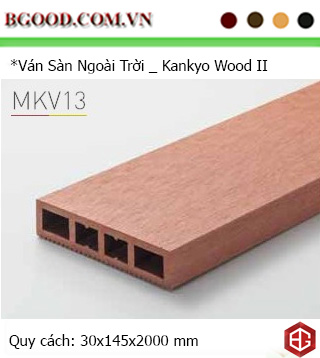MKV13: 30mm x 145 mm(BL)